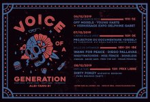 Projection à ALBI - Voice of a generation festival