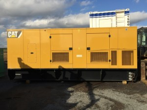 350 kW 2008 Caterpillar LC6 Generator, Low hours, Sound