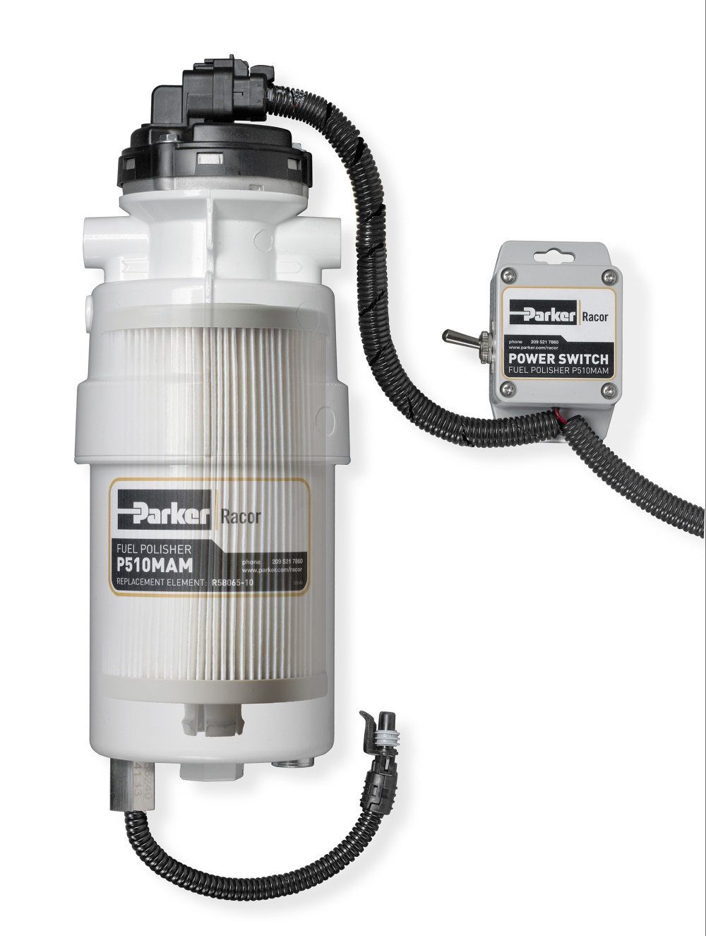 medium resolution of fuel polisher fuel filter water separator the racor fuel polisher removes contamination at the source the fuel tank the fuel polisher removes
