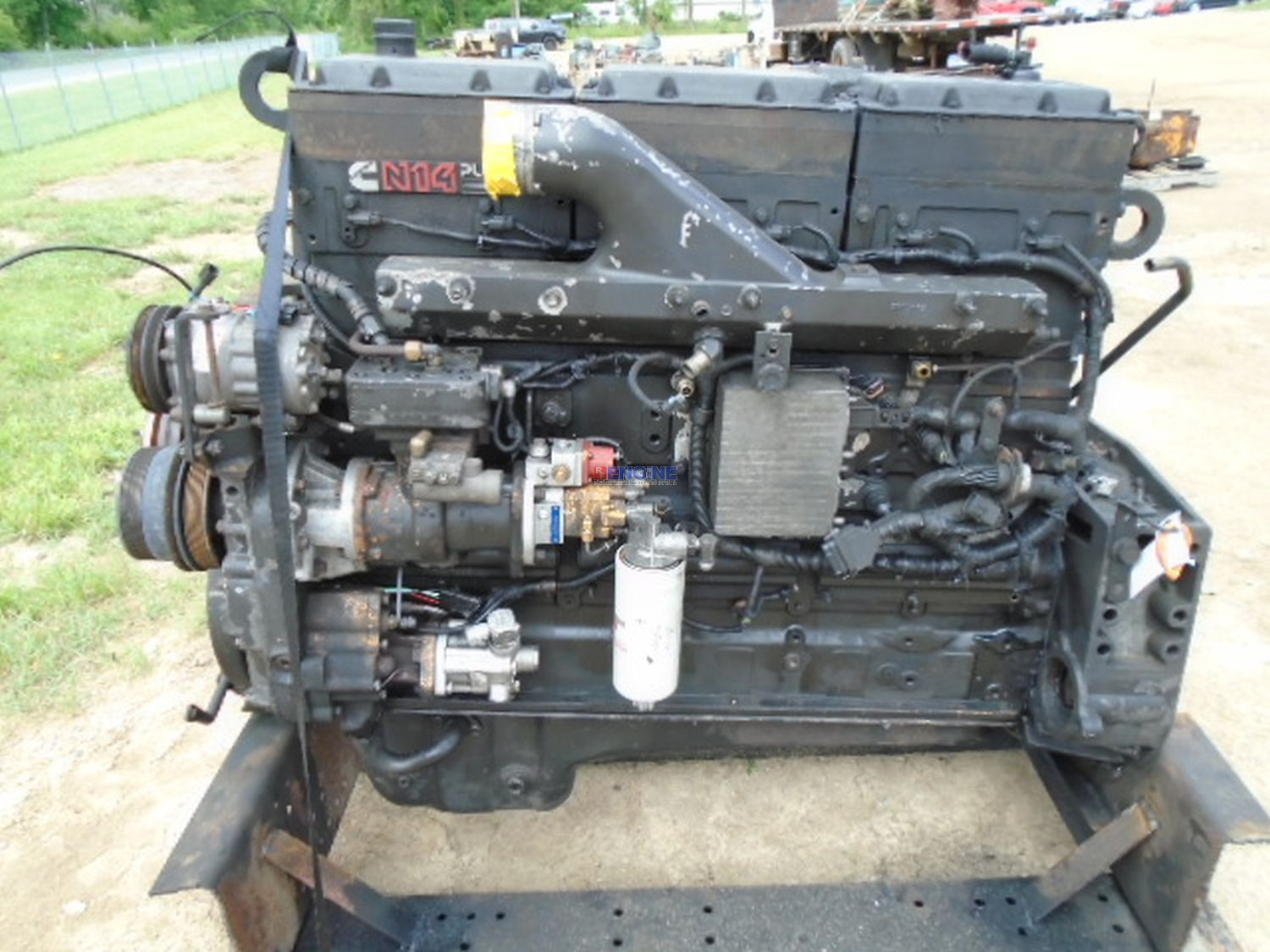 hight resolution of cummins n14 celect plus engine complete