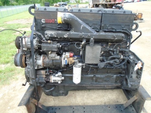 small resolution of cummins n14 celect plus engine complete