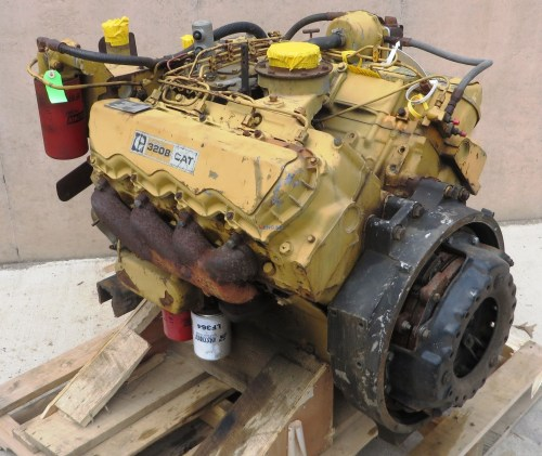 small resolution of caterpillar 3208 engine good running caterpillar 3208 engine good running