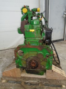 Ome John Deere Tractor Engine - Year of Clean Water