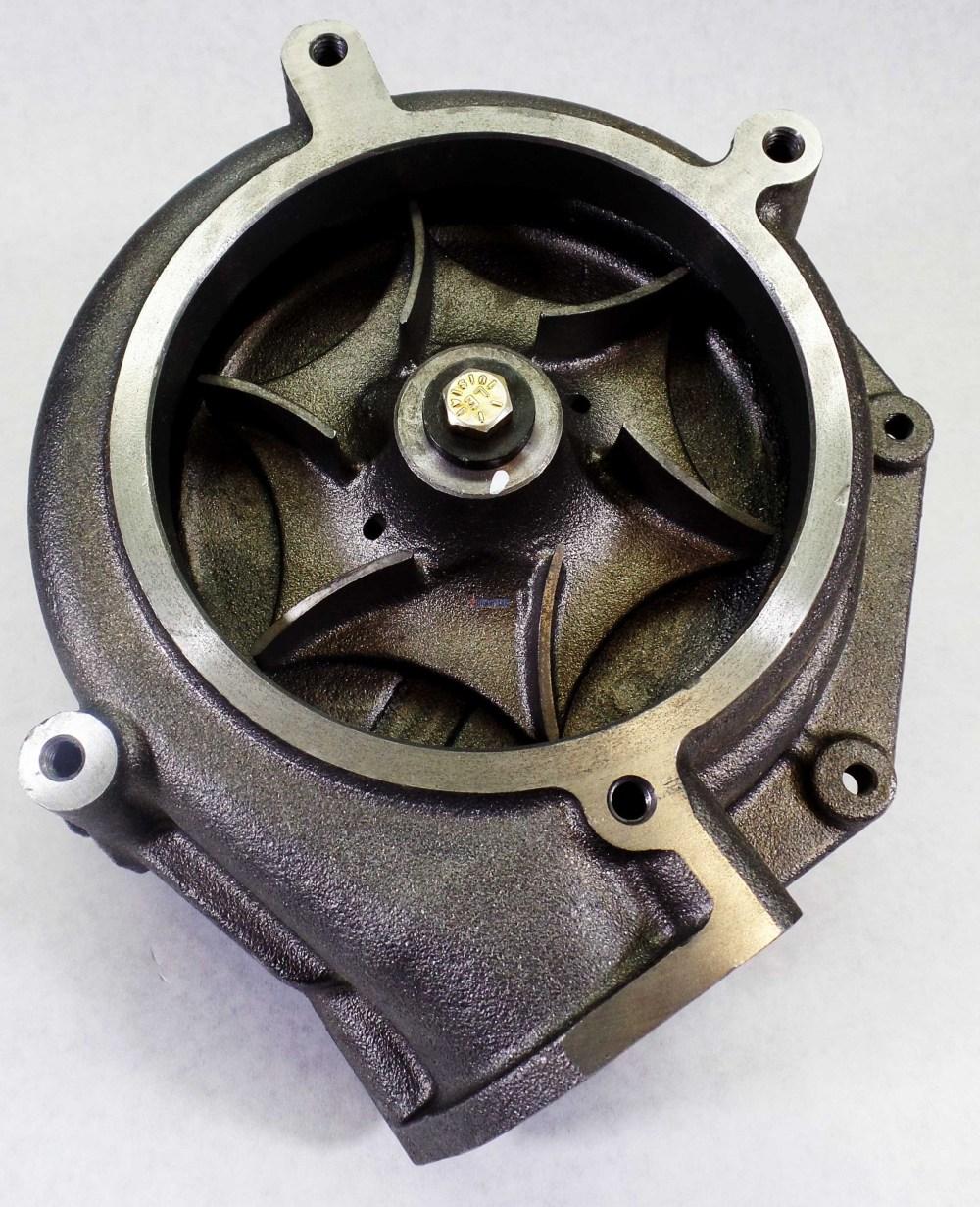 medium resolution of  caterpillar 3406e c15 c16 c18 water pump