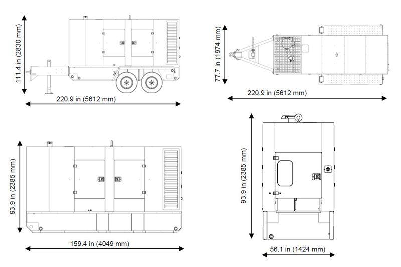 Item # G290, G290 Mobile Generators On Central Diesel, Inc.