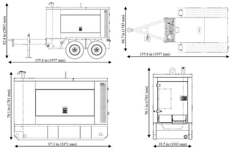 Item # G70, G70 Mobile Generators On Central Diesel, Inc.