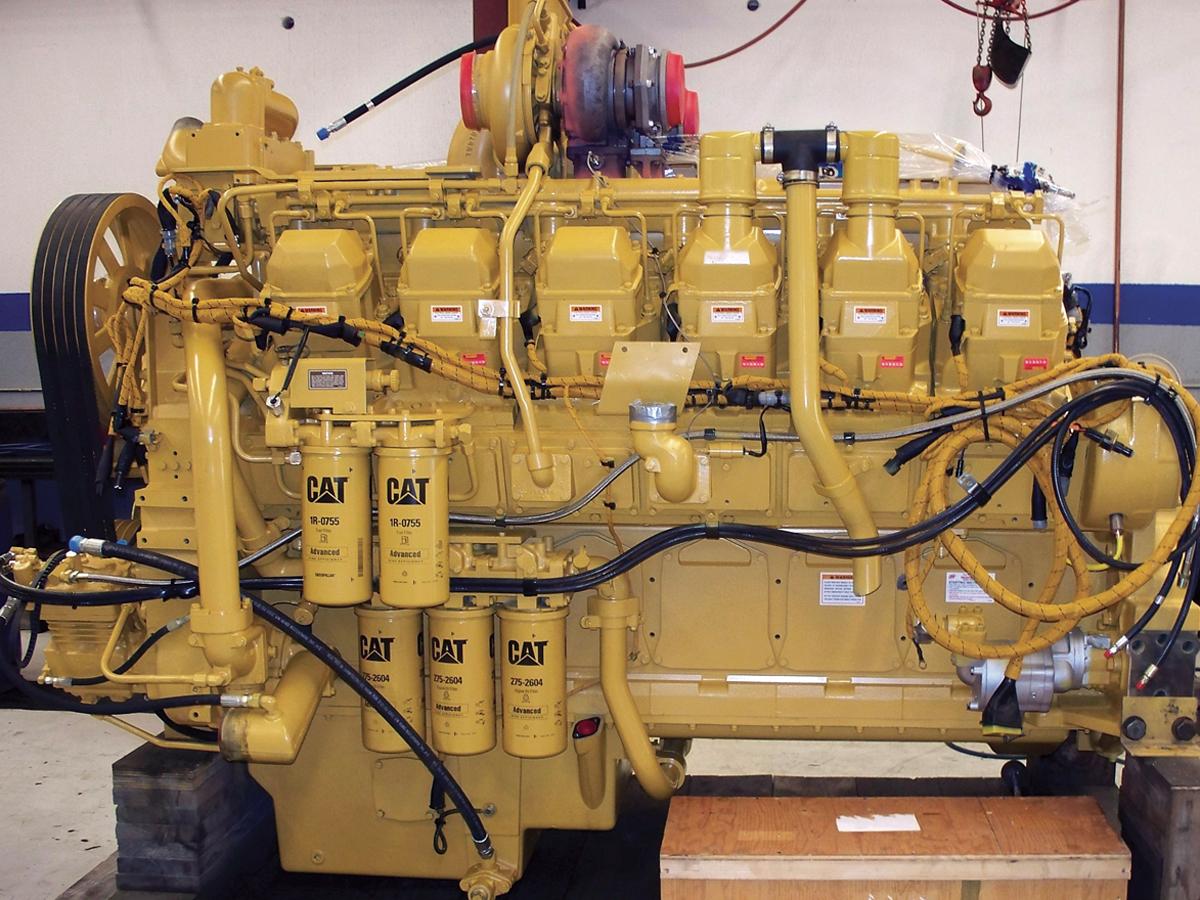Cat Diesel Engine with DFT EUI Injectors