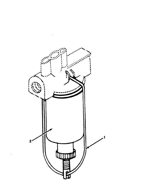 Figure 8. Fuel filter element. (MEP-018A).