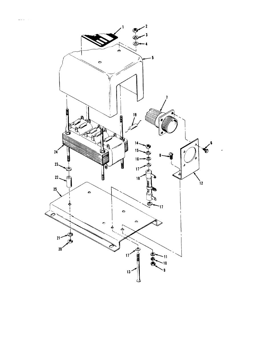 Figure 6-61. Load measurement unit, exploded view