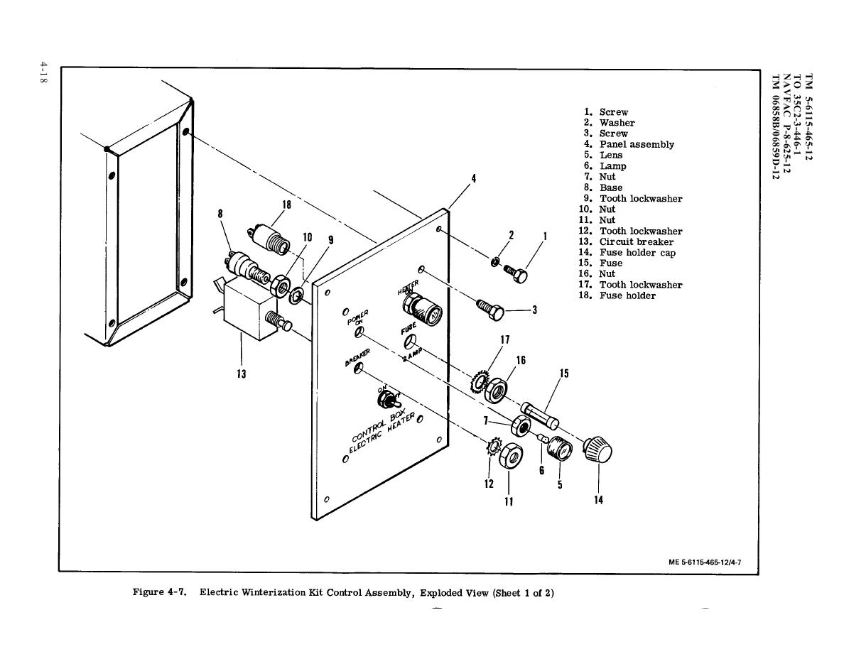 Figure 4 7 Electric Winterization Kit Control Assembly