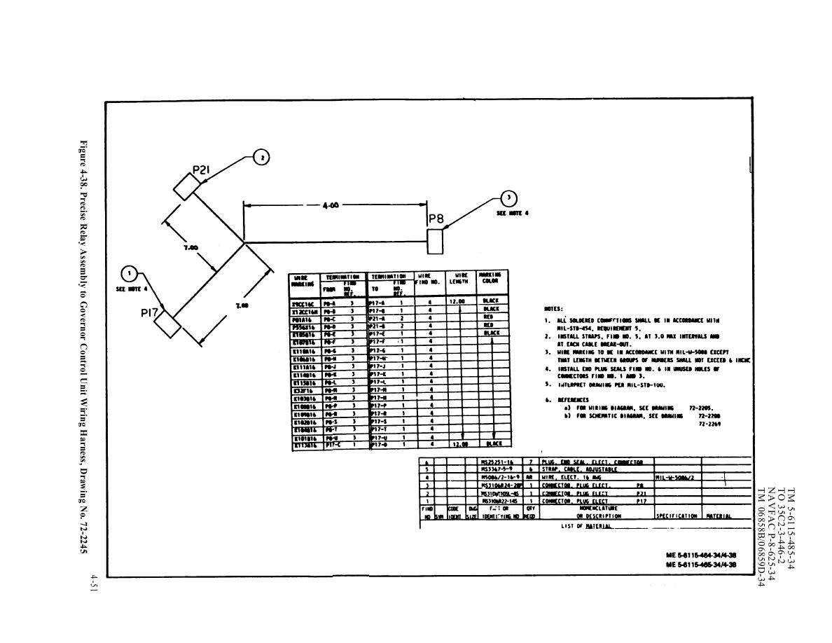 Figure 4-38. Precise Relay Assembly to governor Control