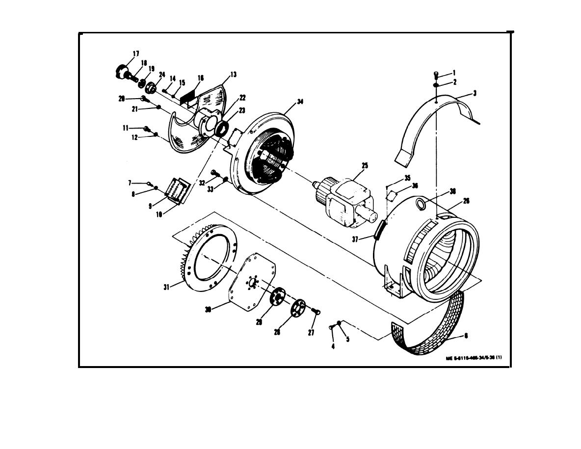 Figure 5-36. Generator Assembly, Exploded View (Sheet 1 of 2)