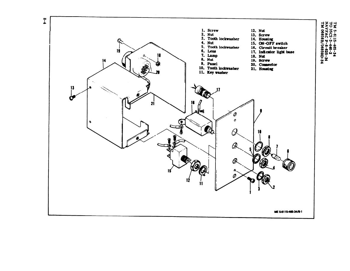 Figure 8 1 Fuel Burning Heater Control Assembly
