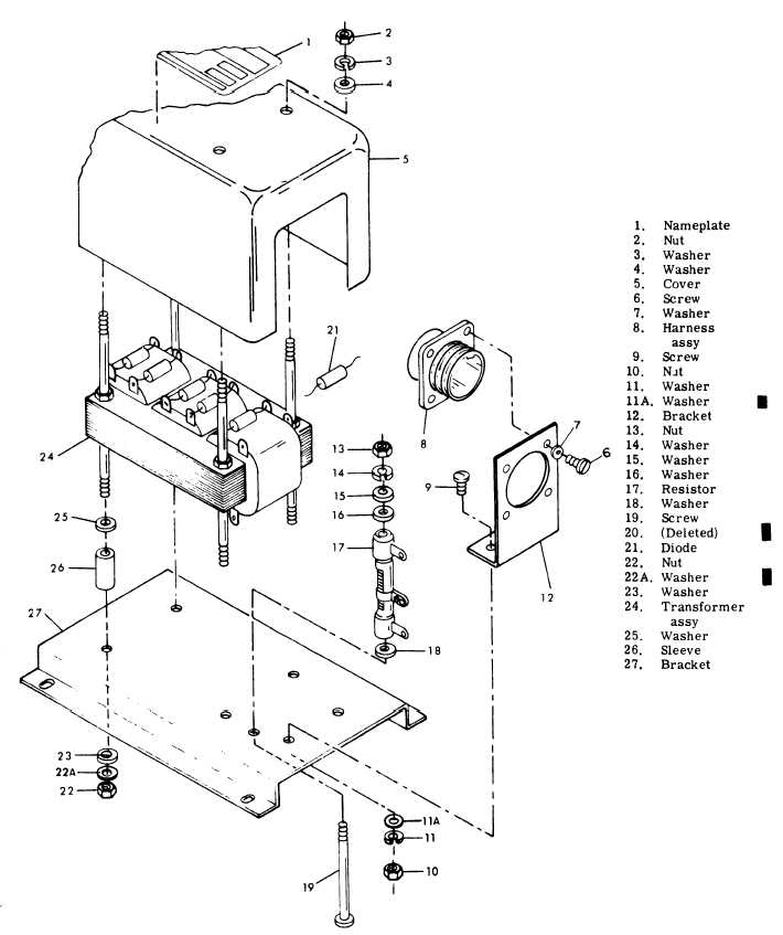 Figure 8-20. Load Measuring Unit Disassembly