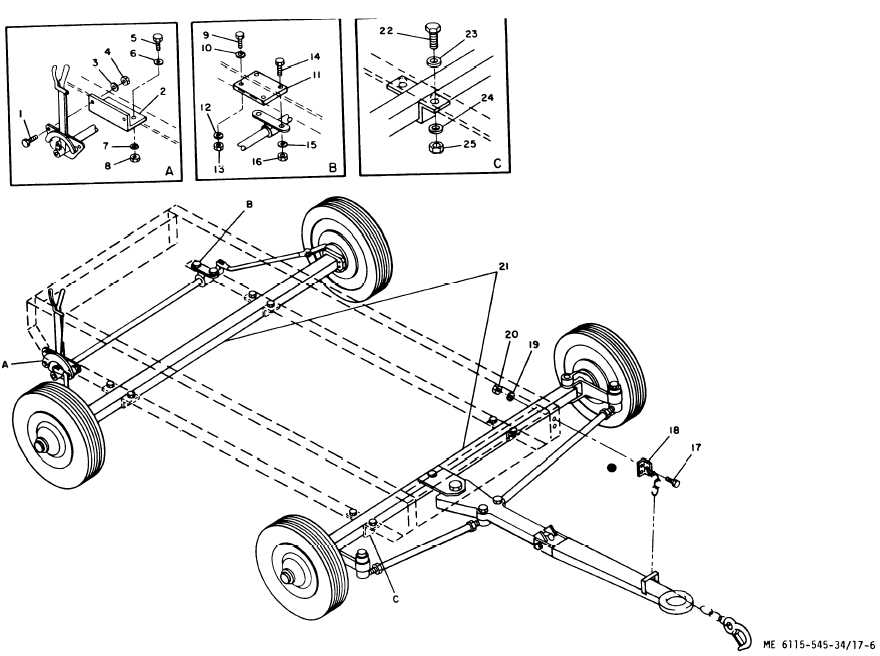 Figure 17-6. Wheel Mounting Kit