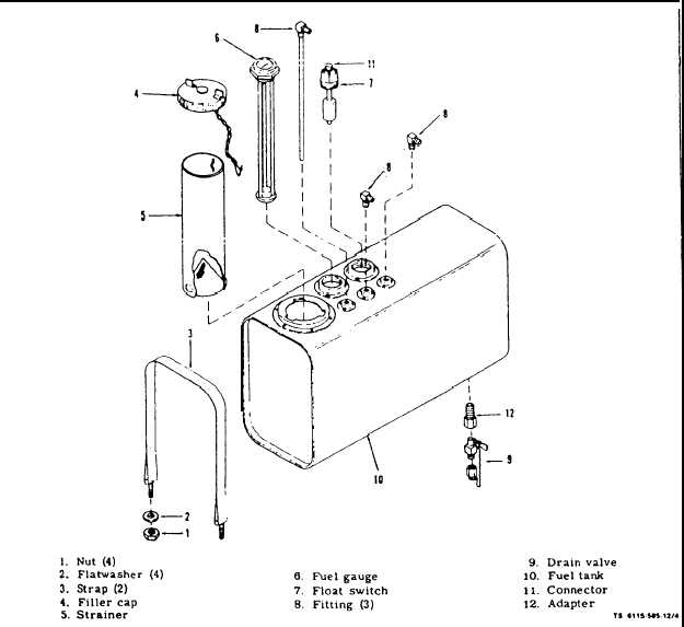 Figure 4-7. Fuel Tank Assembly