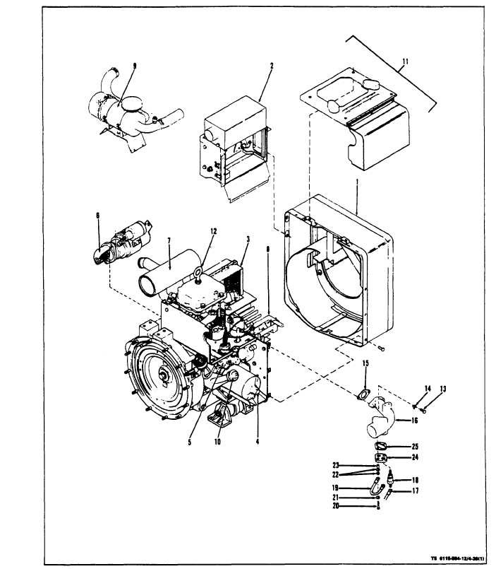 Figure 4-36. Engine Assembly
