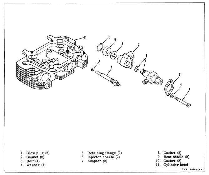 Figure 4-42. Cylinder Head Assembly