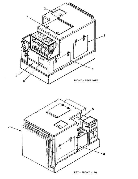 Figure 1-2.1. Engine Generator Set with Acoustic