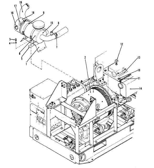 Figure 3-9. Air Cleaner and Shroud Assembly