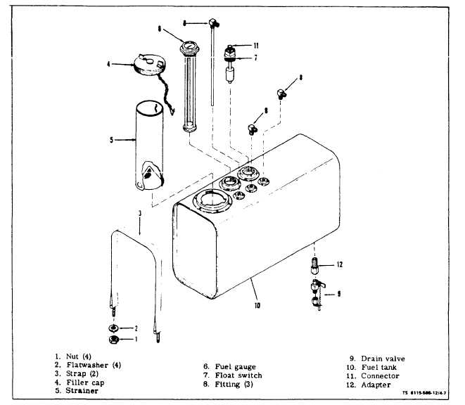 FUEL FILTER ASSEMBLIES AND STRAINER ASSEMBLY
