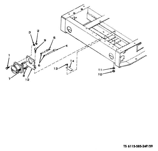 Figure 59. Slave receptacle assembly