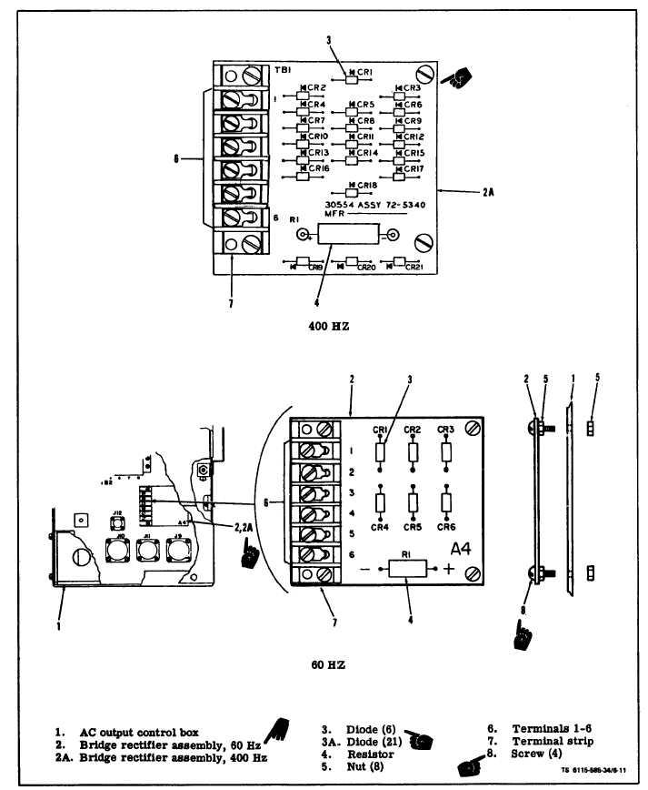 Figure 6-11. Bridge Rectifier Assembly A-4