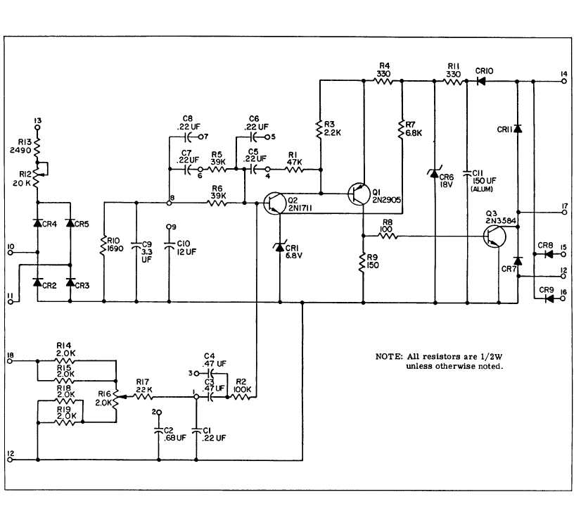 Figure 6-5.1. AC Voltage Regulator Schematic