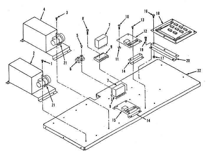 Figure 4-19. AC-DC Control Box Assembly Component Panel