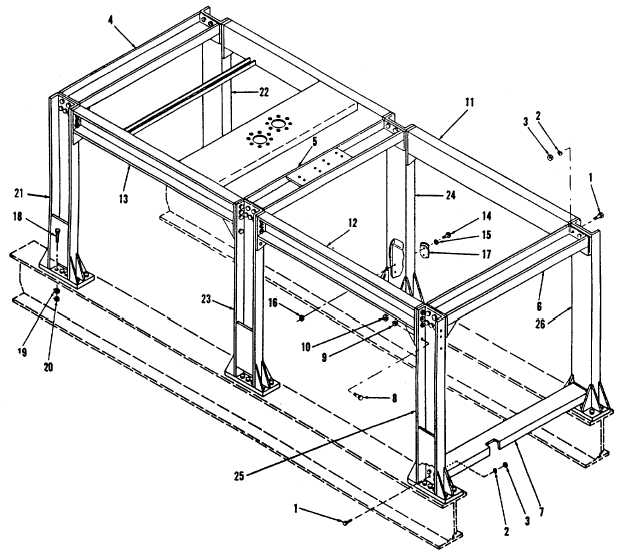 Figure 4-26. Support Frame Assembly