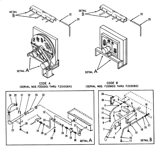 Figure 4-27. Radiator Assembly, Exploded View