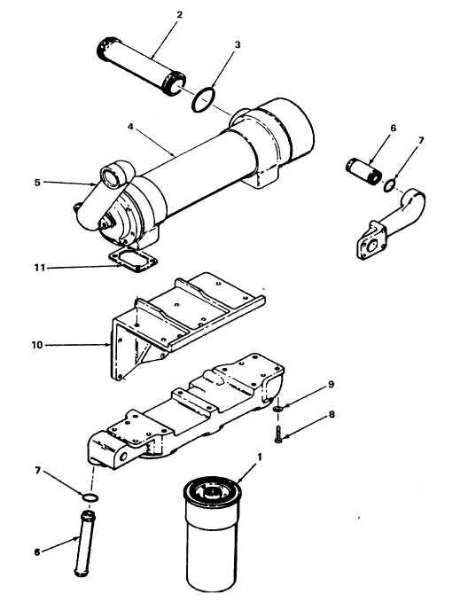 Figure 4-49. Lube Oil Cooler