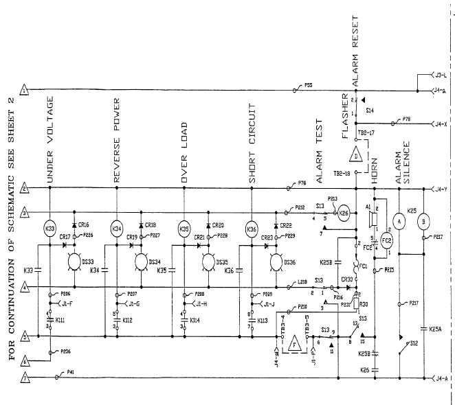 FO-1 DC Schematic (Sheet 1 of 4)