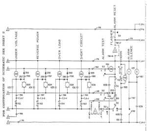 FO1 DC Schematic (Sheet 1 of 4)