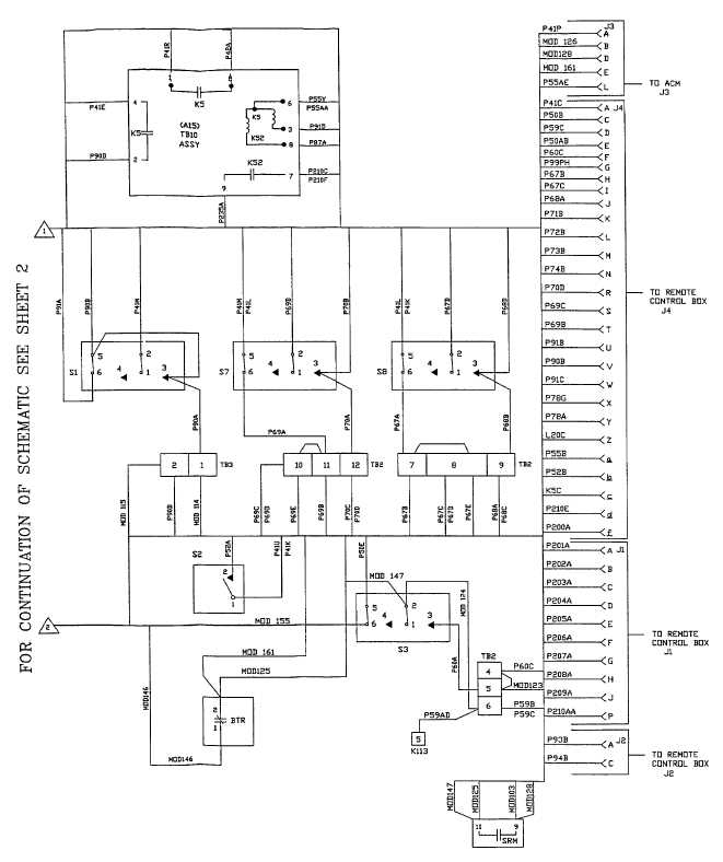 FO-3 DC Wiring Diagram (Sheet 1 of 5)