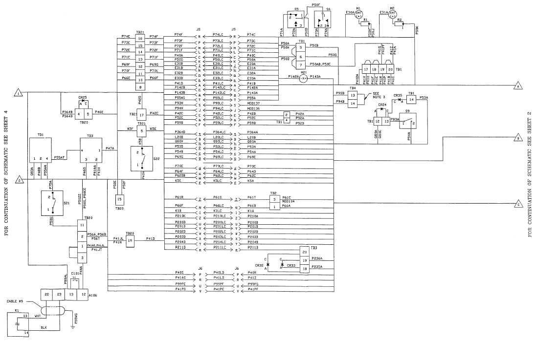FO-3 DC Wiring Diagram (Sheet 3 of 5)
