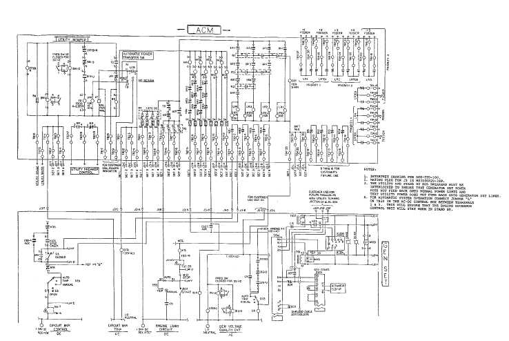 FO-15. Automatic Control Module Interconnect Wiring Diagram