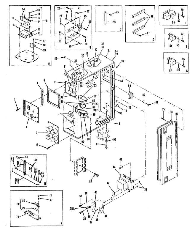 Figure 4. External Power Box and Component Assembly