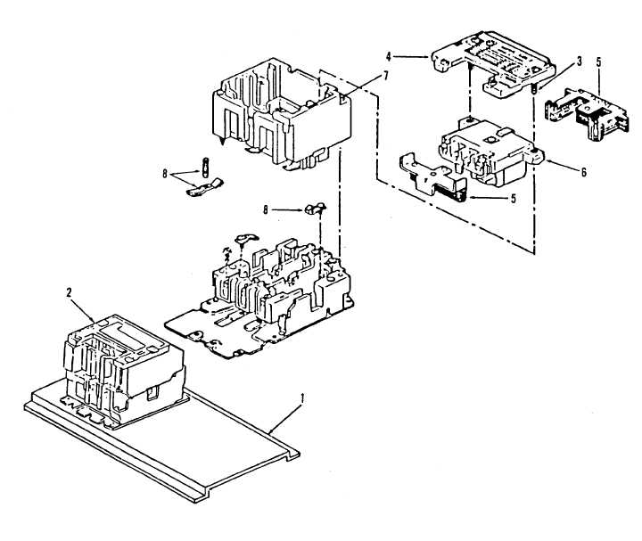 Figure 8. Transfer Contactor Assembly, K108
