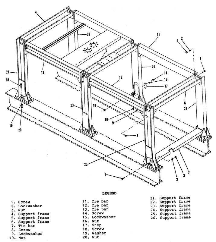 Figure 6-1. Support Frame Assembly