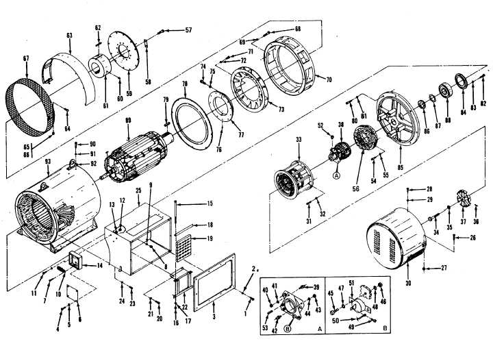 Figure 11-3. Generator Assembly, Exploded View