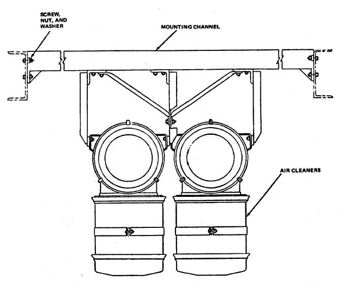 Figure 11-4. Air Cleaner Assembly Removal
