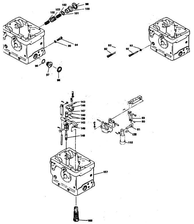 Figure 12-14. Power Piston Linkage Assembly