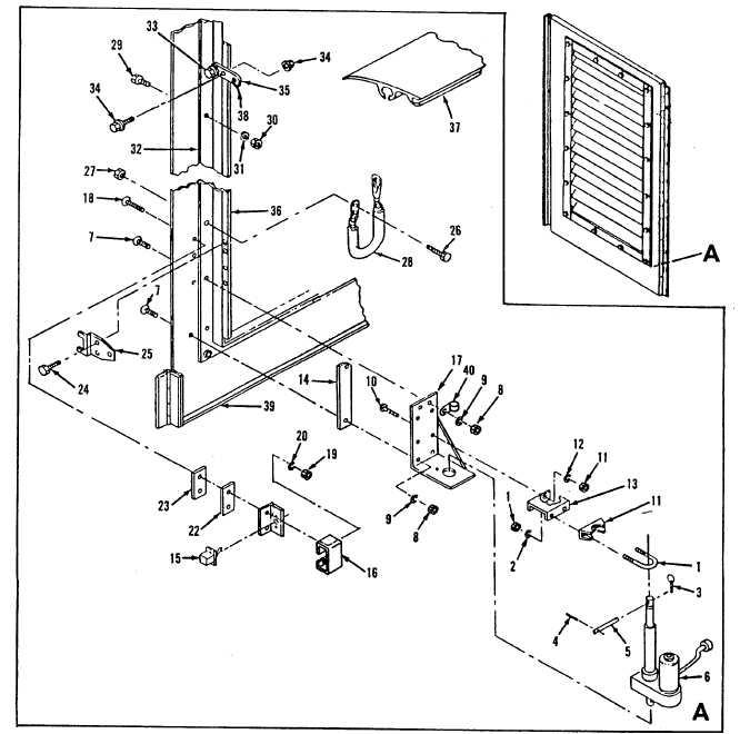 Figure 15-16. Housing Kit, Door and Shutter Assembly