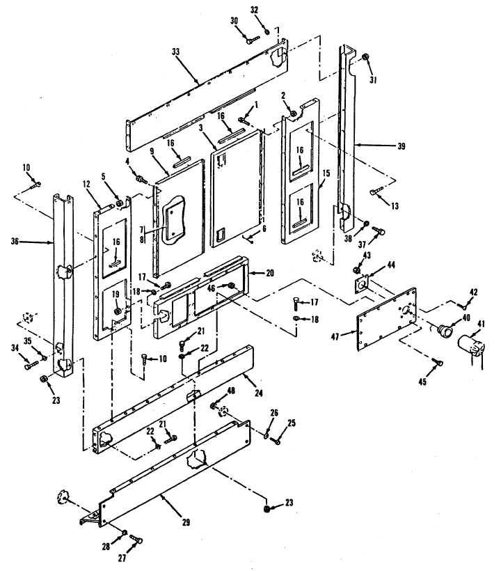 Figure 15-20. Housing Kit, Rear