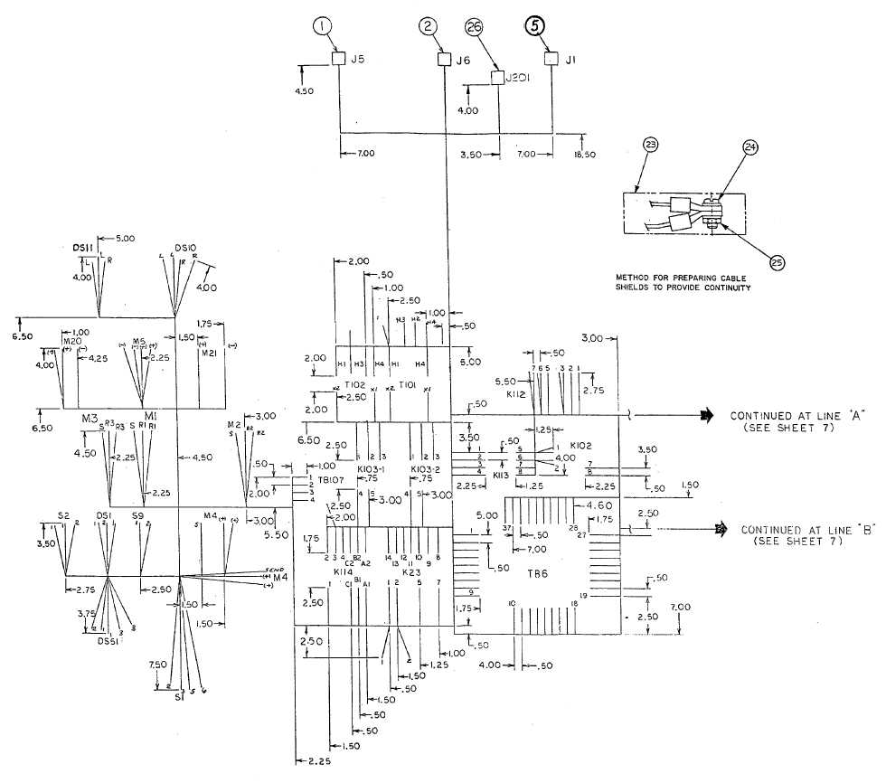 FO-17. Control Box Harness Assembly (Sheet 6 of 8)
