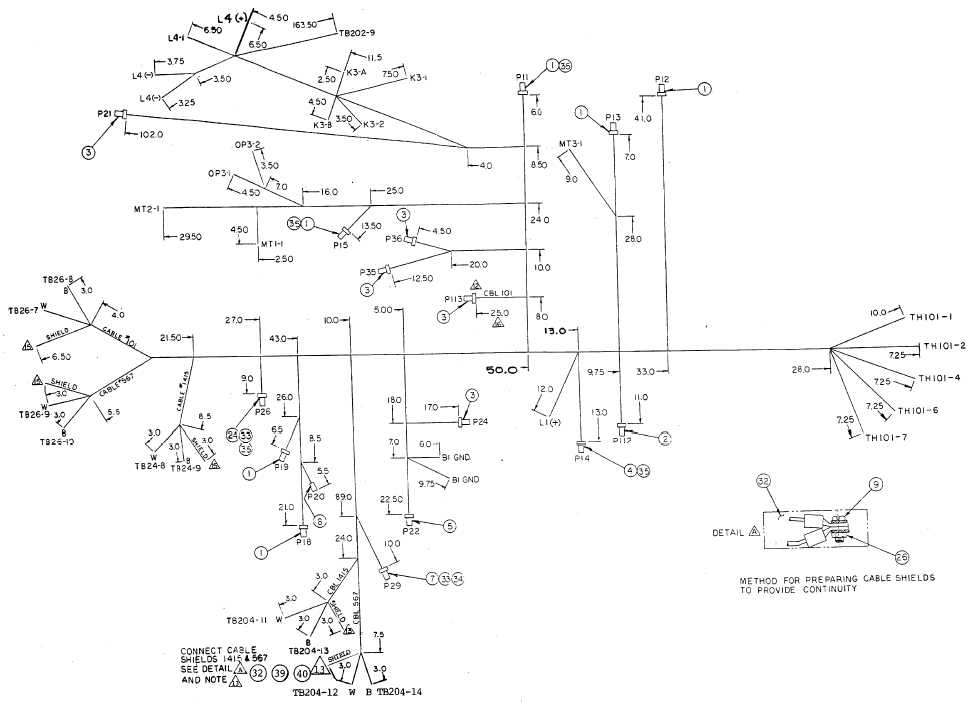 FO-24. Engine Accessory Harness (Sheet 3 of 3)