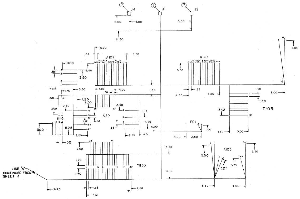 FO-30. Remote Control Box Harness Assembly (Sheet 4 of 4)