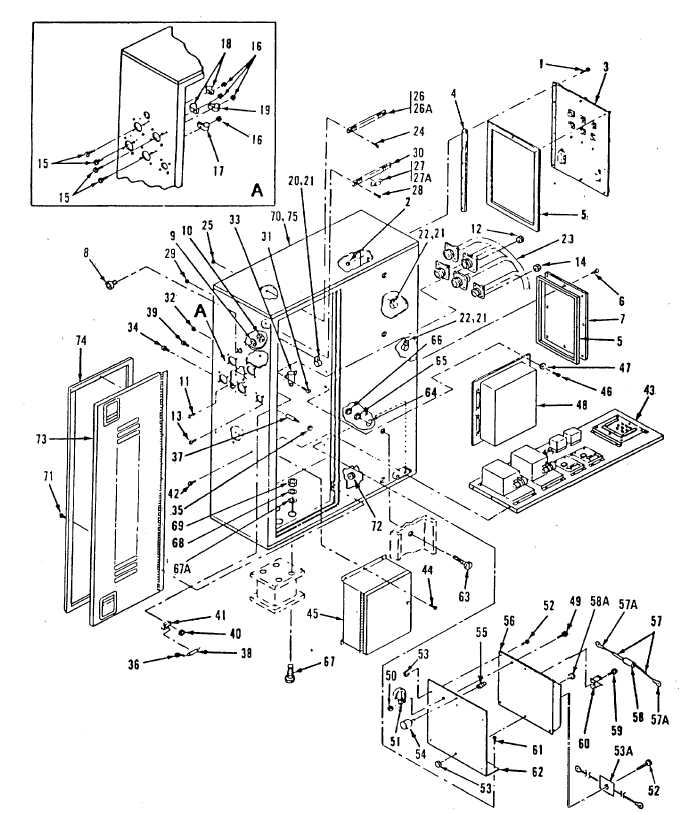 Figure 4-1. AC-DC Control Box Assembly, Exploded View