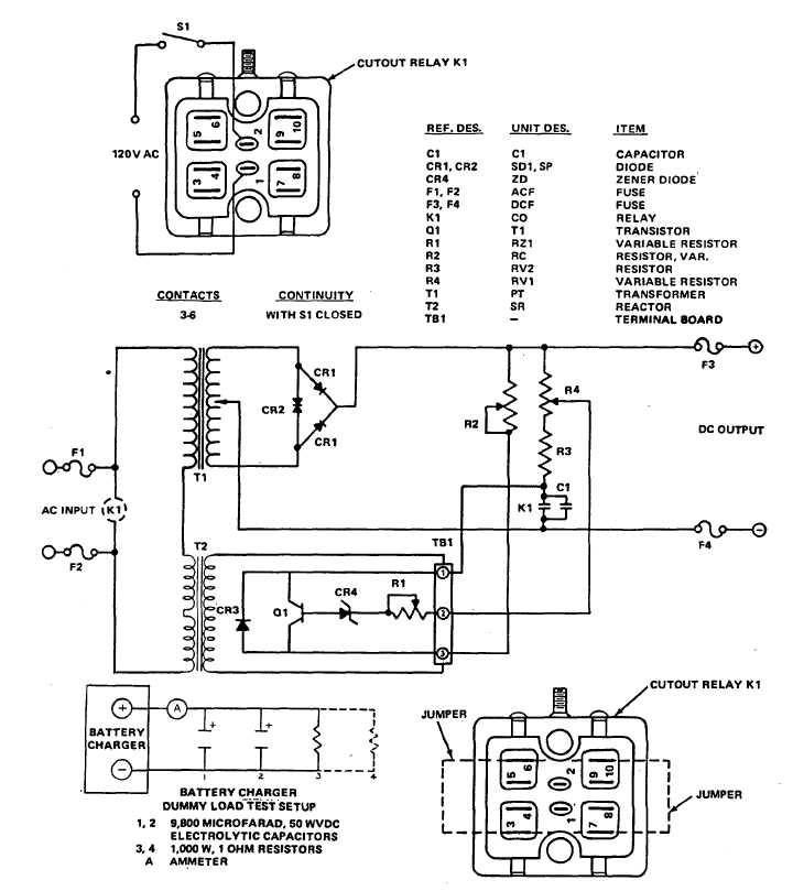 Figure 4-3. Battery Charger Schematic